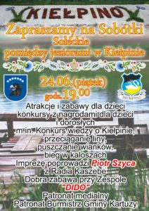 plakat kiełpino sobotki 2