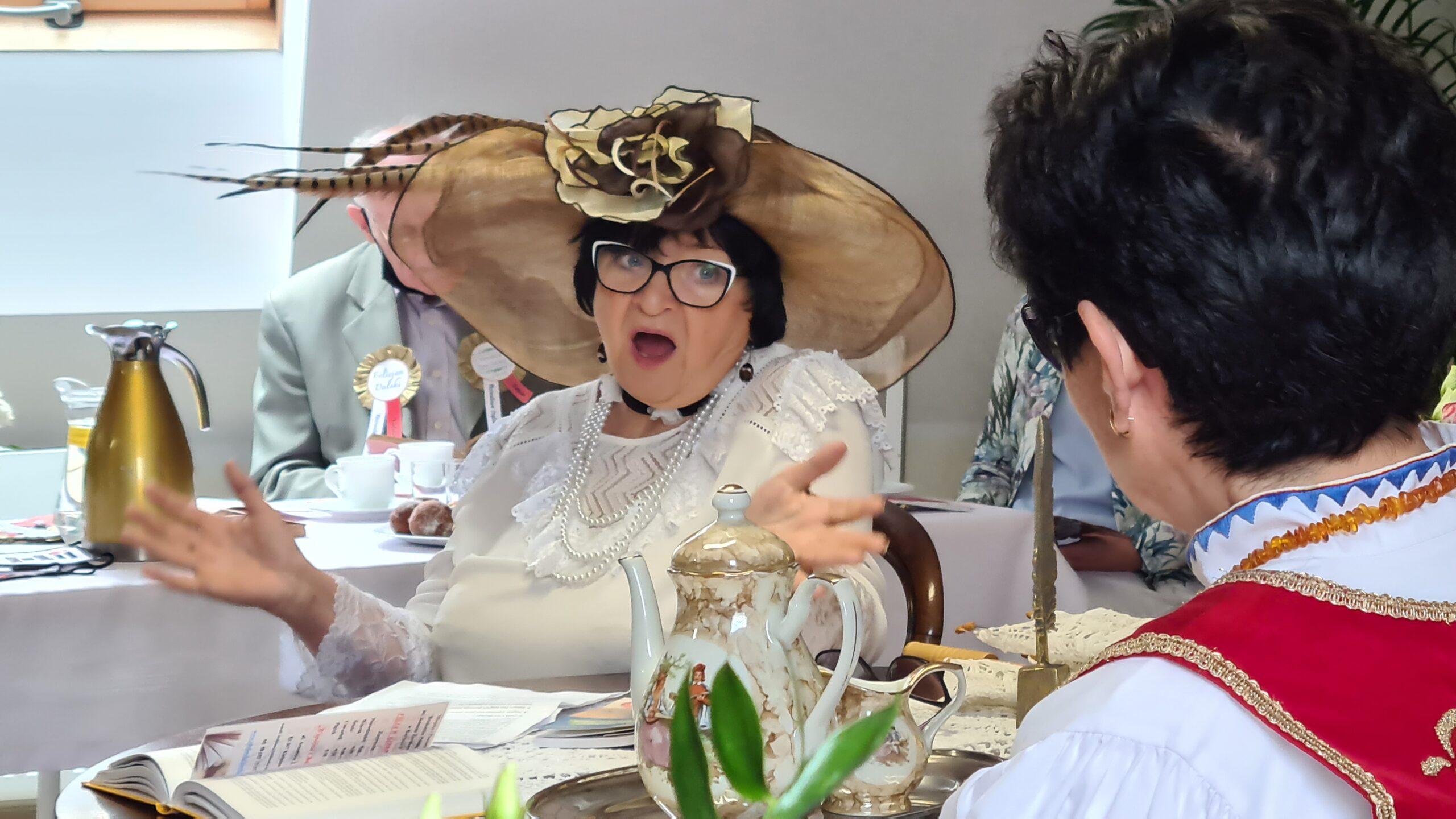 Bożena Gniado w roli Gabrieli Zapolskiej